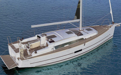 dufour 360 grand large for sale into annapolis yacht charter fleet