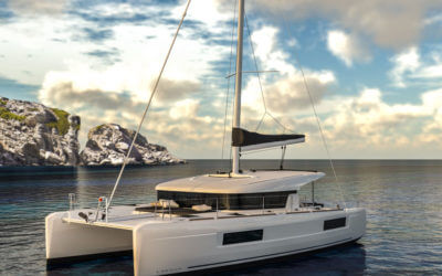 lagoon 40 catamaran for yacht charter management in an annapolis fleet